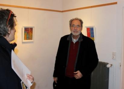 expostion de peintures à Marnay
