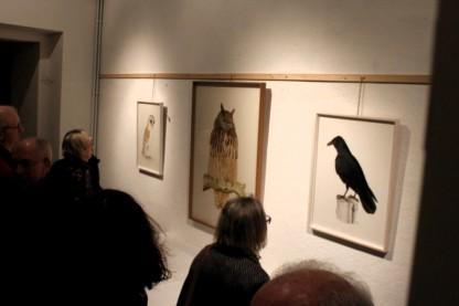 Dessins de Jean-Louis VANNSON exposé à Marnay salle Gorrevod en mars 2017