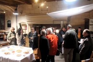 vernissage de l'exposition JL VANNSON Colette SALA LE 3 MARS 2017 SALLE Gorrevod à Marnay le 3 mars 2017