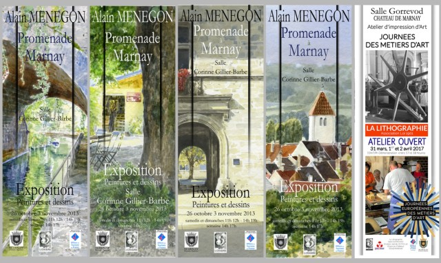 affiches balade a Marnay