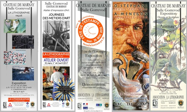 affiches expositions 2