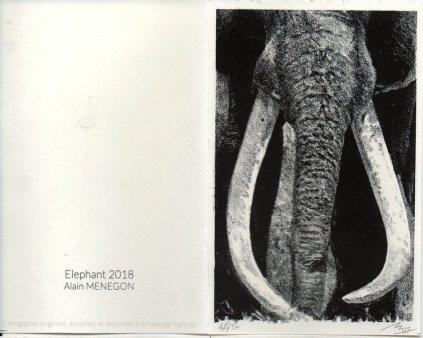 Alain-Menegon - éléphant - voeux 2018