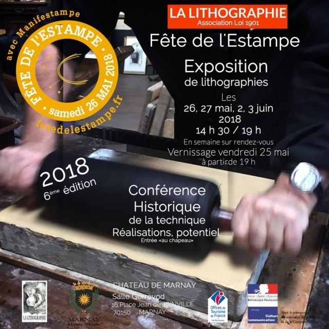 La lithographie fete de l' estampe 2018