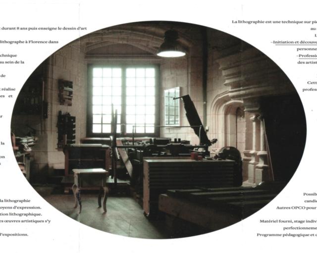 atelier du lithographe